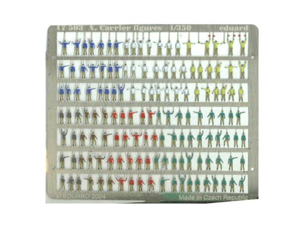 Eduard photodecoupe 17503 Figurines air carrier 1/350