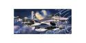 Fujimi maquette avion 35147 F-16C/D Jaws 1/72