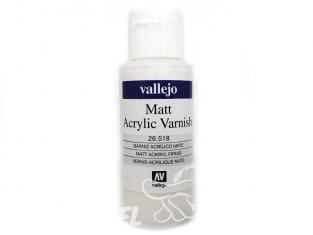 Vallejo 26518 Vernis acrylique mat 60ml