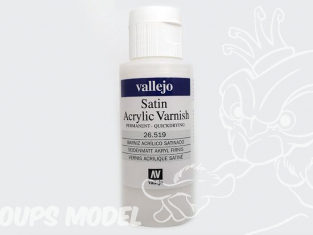 Vallejo 26519 Vernis acrylique satiné 60ml