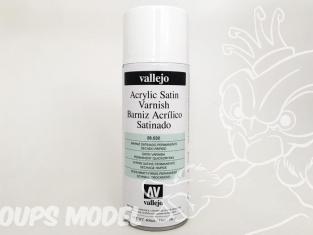 Vallejo aerosol 28532 Bombe de vernis Satiné acrylique 400ml