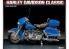 Academy maquette moto 15501 Harley Davidson Classic Electra 1/10