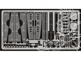 Eduard photodecoupe 48561 B-26 Marauder kit exterieur Revell / Monogram 1/48