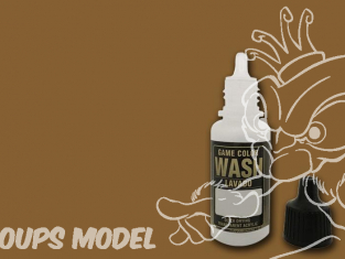 Vallejo Peinture Acrylique Game Color Wash 73200 Lavis Sepia 17ml
