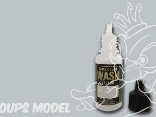 Vallejo Peinture Acrylique Game Color Wash 73202 Lavis Gris Pâle 17ml