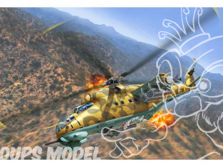 Revell maquette helico 04951 Mil Mi-24D Hind 1/100