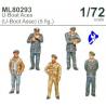 CMK figurine ML80293 Equipage U-Boat 1/72
