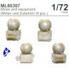 CMK figurine ML80307 Mines avec equipement 1/72