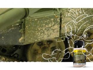 Vallejo Splash Mud Acrylique 73804 Eclaboussure de boue Marron clair 40ml