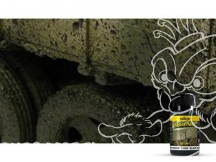 Vallejo Splash Mud Acrylique 73806 Eclaboussure de boue Noir 40ml