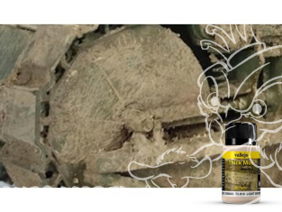 Vallejo Thick Mud Acrylique 73810 Boue Epaisse Marron clair 40ml
