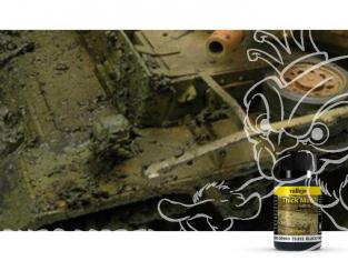 Vallejo Thick Mud Acrylique 73812 Boue Epaisse Noire 40ml