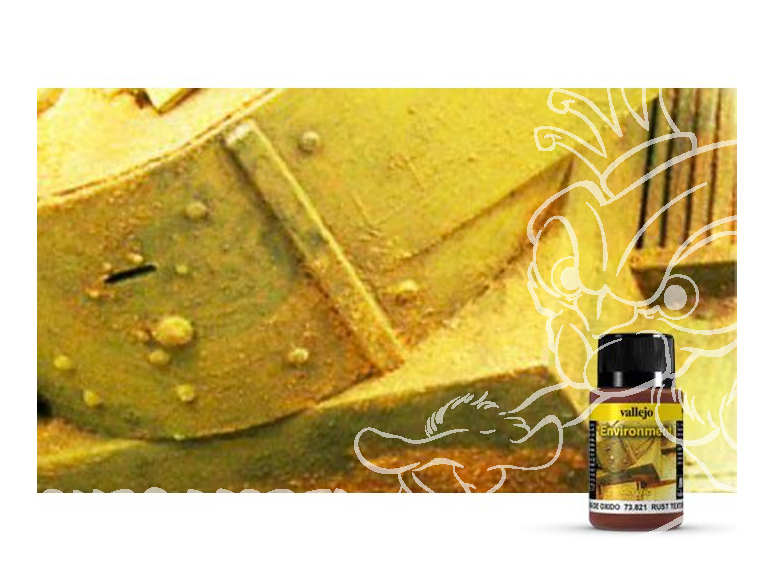 Vallejo Environment Acrylique 73821 Texture Rouille 40ml