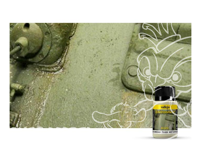 Vallejo Environment Acrylique 73828 Effets d'humidité 40ml