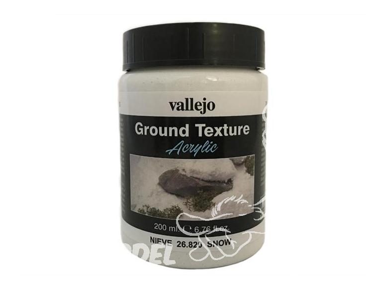 Vallejo Texture Acrylique 26820 Neige 200ml