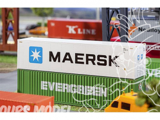 Faller accessoires 180847 40' Hi-Cube Refrigerator Container MAERSK ho 1/87