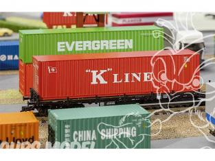 Faller accessoires 180848 40' Hi-Cube Container K-LINE ho 1/87