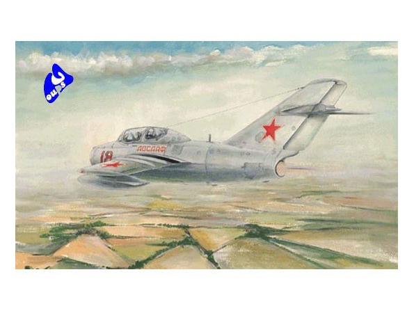 """Trumpeter maquette avion 02805 MIG-15 UTI """"MIDGET"""" 1/48"""