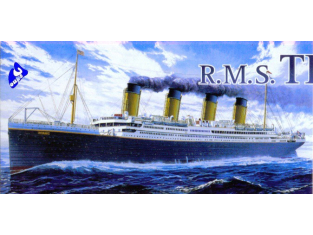 Academy maquettes bateau 14402 RMS Titanic 1/700