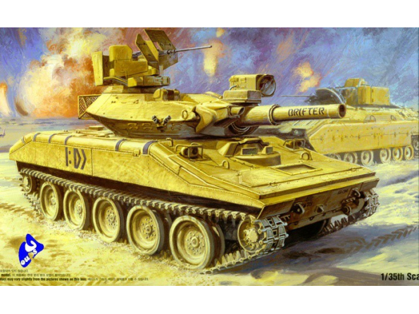 Academy maquette militaire 13208 M551 Sheridan 1/35