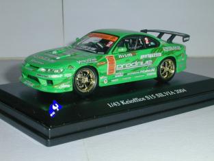 Aoshima miniature voiture 74466 Keioffice S15 Silvia 2004 1/43