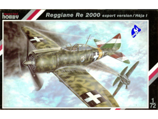 Special Hobby maquette avion 72101 Regiane Re 2000 1/72