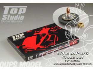 Top Studio amélioration TD23154 Set de freins MP4/6 Tamiya 1/12