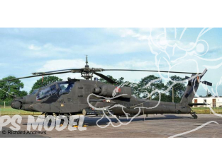 Revell maquette helico 04985 AH-64A Apache 1/100