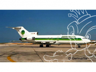 Revell maquette avion 03946 Boeing 727-100 GERMANIA 1/144