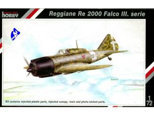 Special Hobby maquette avion 72098 Reggiane Re 2000 Falco III 1/72
