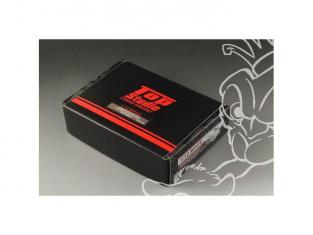 Top Studio amélioration TD231961 Super Detail-UP set radiateur et ECUpour la MP4/6 Tamiya 1/12
