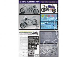 Top Studio amélioration MD29009 Super Detail Set pour la YZR-M1 46 de 2009 kit Tamiya 1/12