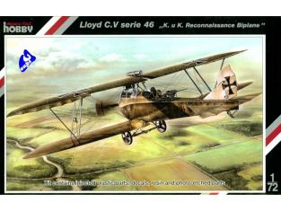 Special Hobby maquette avion 72119 Lloyd C.V Serie 46 1/72