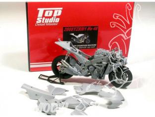 Top Studio amélioration MD29006 Super Detail Set pour la YZR-M1 46 de 2008 kit Tamiya 1/12