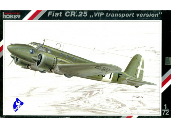 Special Hobby maquette avion 72089 Fiat CR.25 1/72