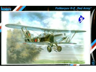 Special Hobby maquette avion 72055 Polikarpov R-Z 1/72