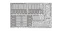 Eduard photodecoupe avion 23023 Volets d'atterrissage Typhoon Mk.Ib Car Door Airfix 1/24