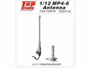 Top Studio amélioration TD23156 Antennes pour MP4/6 Tamiya 1/12