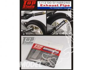 Top Studio amélioration TD23121 Silencieux NSR250 2000 a 2001 1/12