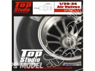 Top Studio amélioration TD23115 5 Valves de roues 1/20 1/24