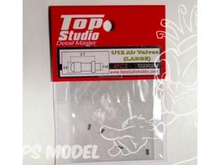 Top Studio amélioration TD23025 Valves de roues Longues 1/12