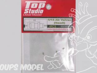 Top Studio amélioration TD23024 Valves de roues Courte 1/12