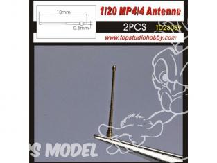 Top Studio amélioration TD23059 2 Antennes pour MP/4/4 1/20