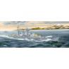 TRUMPETER maquette bateau 05346 CROISEUR LOURD BLÜCHER KRIEGSMARINE ALLEMANDE 1940 1/350