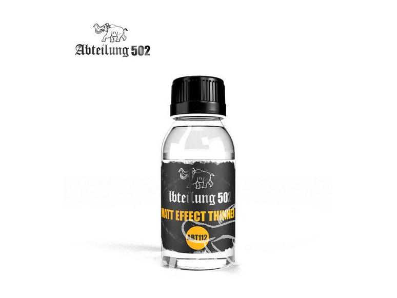 Abteilung 502 produit auxilliaires ABT112 DILUANT MATIFIANT 100ml