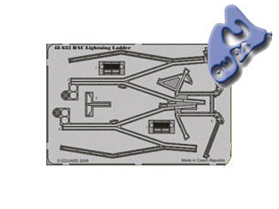 EDUARD photodecoupe 48632 BAC LIGHTNING LADDER 1/48