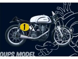 Italeri maquette moto 4602 NORTON MANX 500cc 1951 1/9