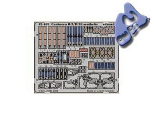 EDUARD photodecoupe 49469 CANBERRA B2/B20 HARNAIS DE SECURITE 1/