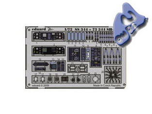 EDUARD photodecoupe 73344 SH-60B 1/72