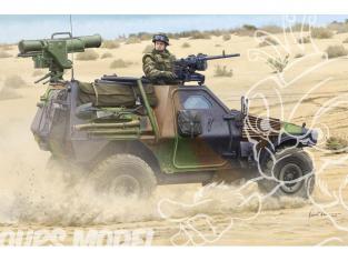 Hobby Boss maquette militaire 83877 VBL Français avec missile Milan 1/35